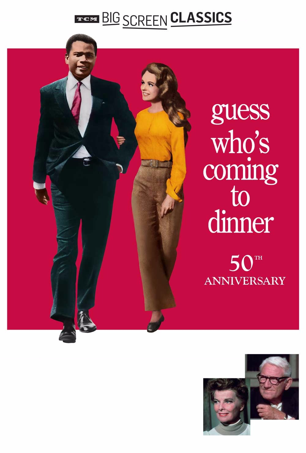 TCM: Guess Who's Coming to Dinner 50th Anniversary